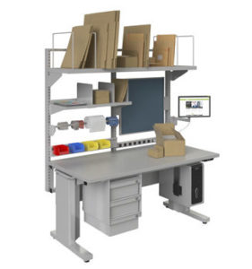 Use an in-store packaging station for omni-channel businesses and successfully fulfill online orders through local stores.